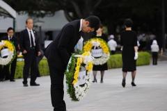 広島原爆死没者慰霊式並びに平和祈念式